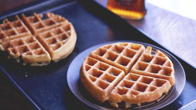 Bacon Waffles | #SundaySupper