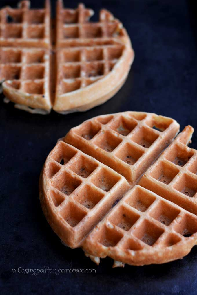 How to make delicious Bacon Waffles from Cosmopolitan Cornbread
