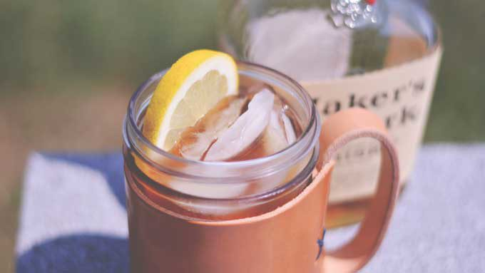 Bourbon Sweet Tea Cocktail | #SundaySupper