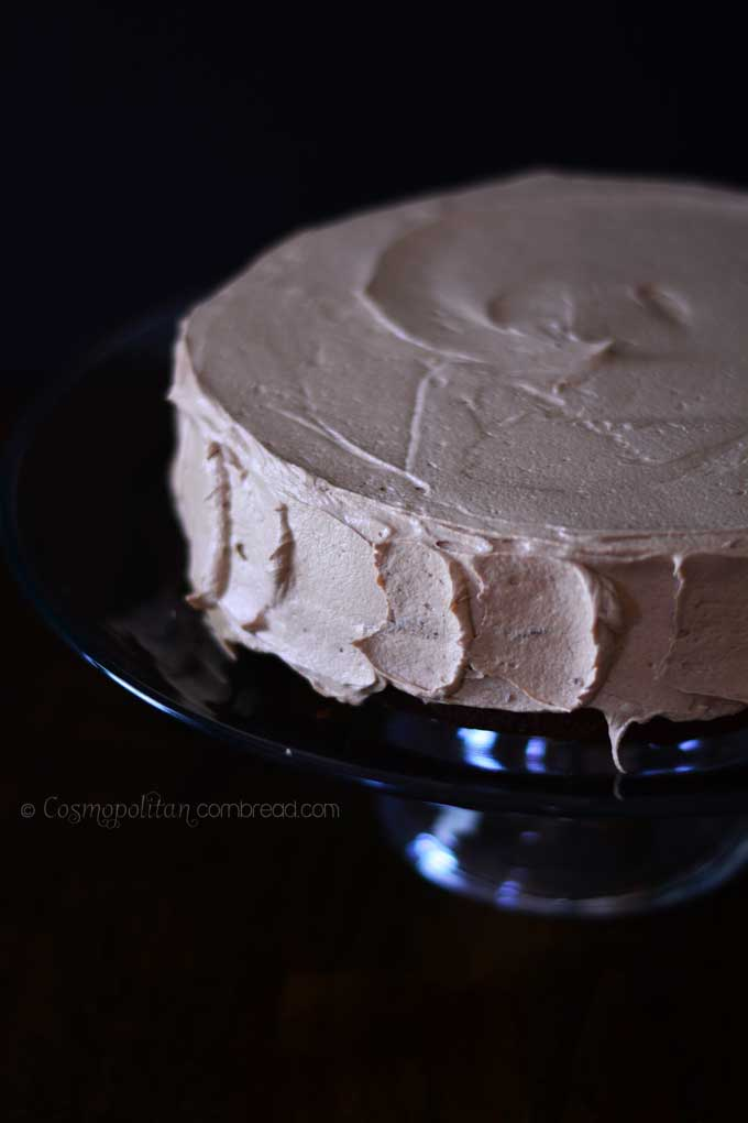 Mocha Rum Cake Recipe — Dishmaps