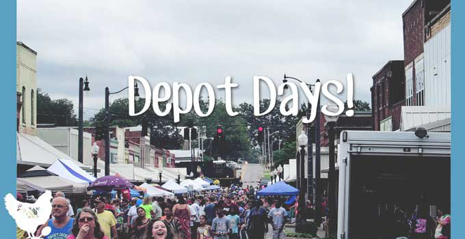 Depot Days! An Annual Small-Town Festival in Hartselle, Alabama