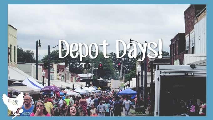 Depot Days! An Annual Small Town Festival in Hartselle, Alabama | Cosmopolitan Cornbread