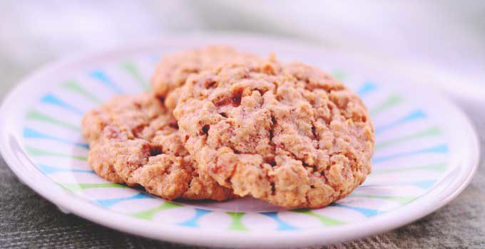 Candy Bar Oatmeal Cookies | #SundaySupper