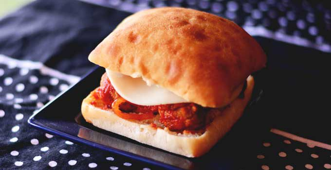Easy Meatball Hoagies from your Slow Cooker