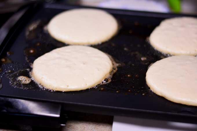 Classic Buttermilk Pancakes - get the recipe from Cosmopolitan Cornbread