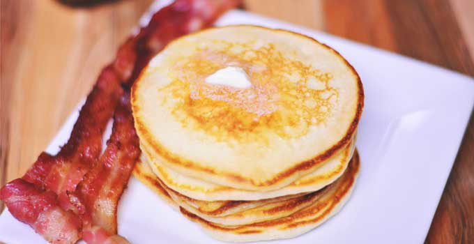Classic Buttermilk Pancakes | #SundaySupper