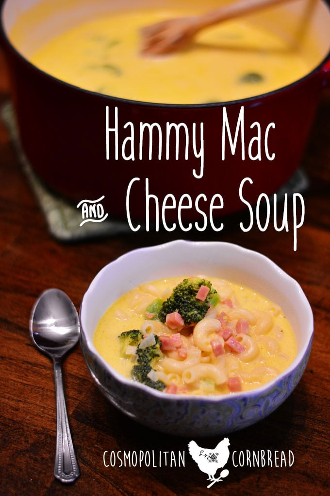 Hammy Mac & Cheese Soup is a kid-friendly, rich and creamy soup that your family will adore. Get the recipe from Cosmopolitan Cornbread.