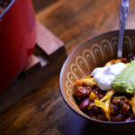 Quick and easy Taco Soup from Cosmopolitan Cornbread