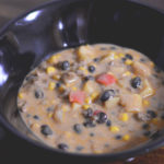 Tex-Mex Black Bean Chowder from Cosmopolitan Cornbread has just a little zip and a whole lot of flavor.