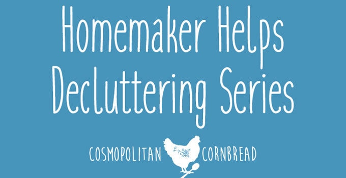 The Decluttering Challenge | Fight the clutter war, one battle at a time with weekly goals and assignments from Cosmopolitan Cornbread