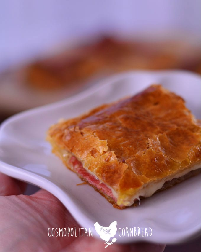 Simple and Delicious Soppressata Puffs from Cosmopolitan Cornbread