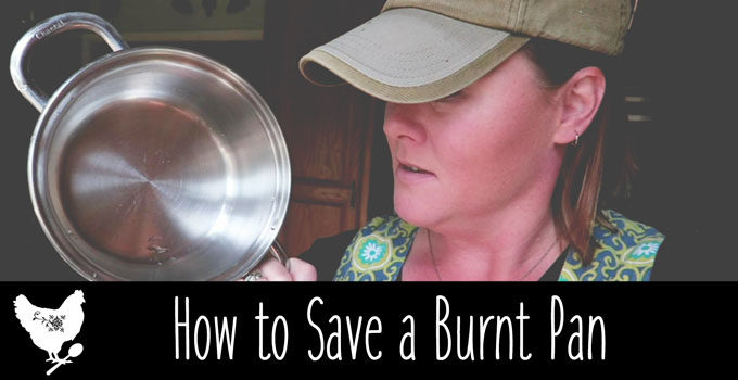 How to Save a Burnt Pan