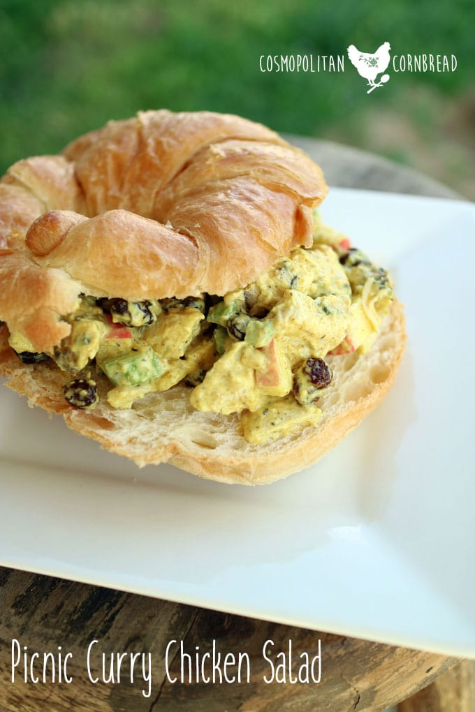 Picnic Curry Chicken Salad from Cosmopolitan Cornbread