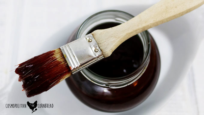 Blueberry Sriracha Barbecue Sauce | #SundaySupper