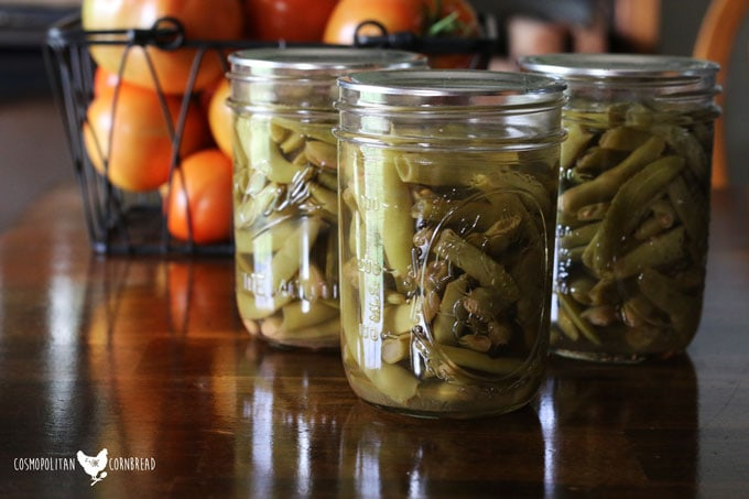 How to Can Green Beans from your Garden | Taking the intimidation factor out of pressure canning by walking you step-by-step through the process of canning green beans.