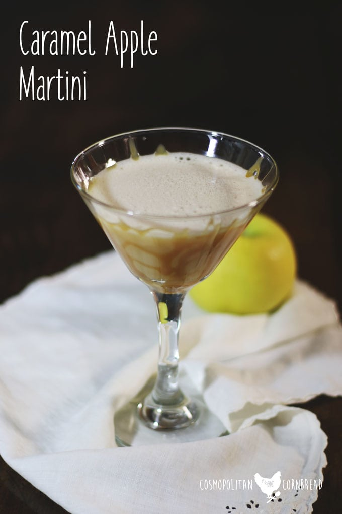 This Caramel Apple Martini Is The Ultimate Autumn Cocktail To Enjoy In The  Fall.