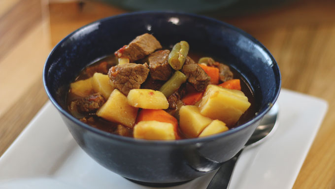 Beef & Brew Vegetable Stew