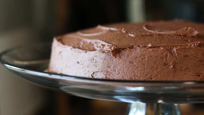 The Best Little Chocolate Cake
