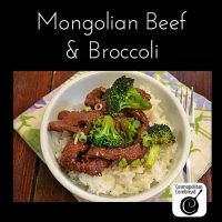 Restaurant Style Mongolian Beef & Broccoli