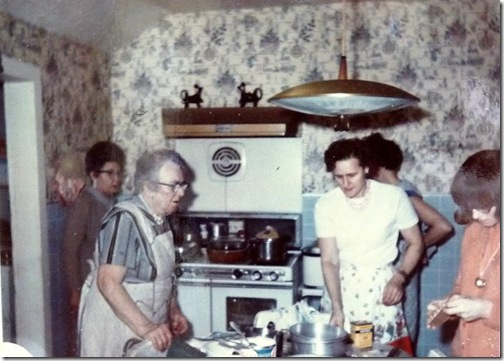 My great-grandmother's kitchen