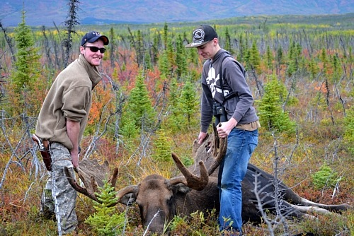 Opening Day of Moose Season