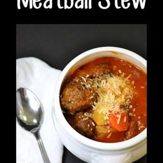 Hearty Moose Meatball Stew