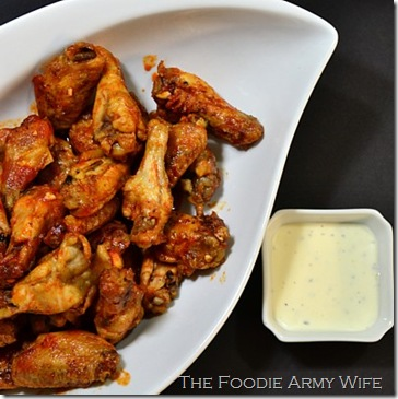 Hot Wings from The Foodie Army Wife