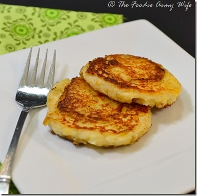 Kartoffelpuffer |German Potato Pancakes from TheFoodieArmyWife.com