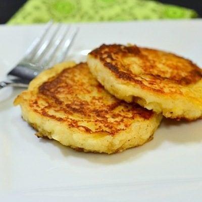 German Potato Pancakes from Mashed Potatoes & More Thanksgiving Leftover Recipe Ideas
