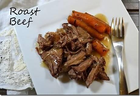 Dad's Favorite Roast Beef
