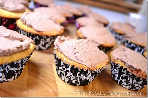 Chocolate Mascarpone Frosting from The Foodie Army Wife