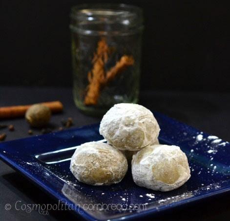 How to make traditional German Pfeffernussen Cookies   Get the recipe from Cosmopolitan Cornbread