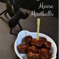 Drunk Moose Meatballs