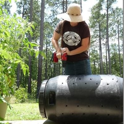 Homemade Compost Tumbler