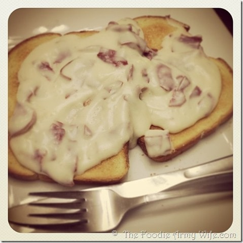 Old Fashioned Chipped Beef from The Foodie Army Wife