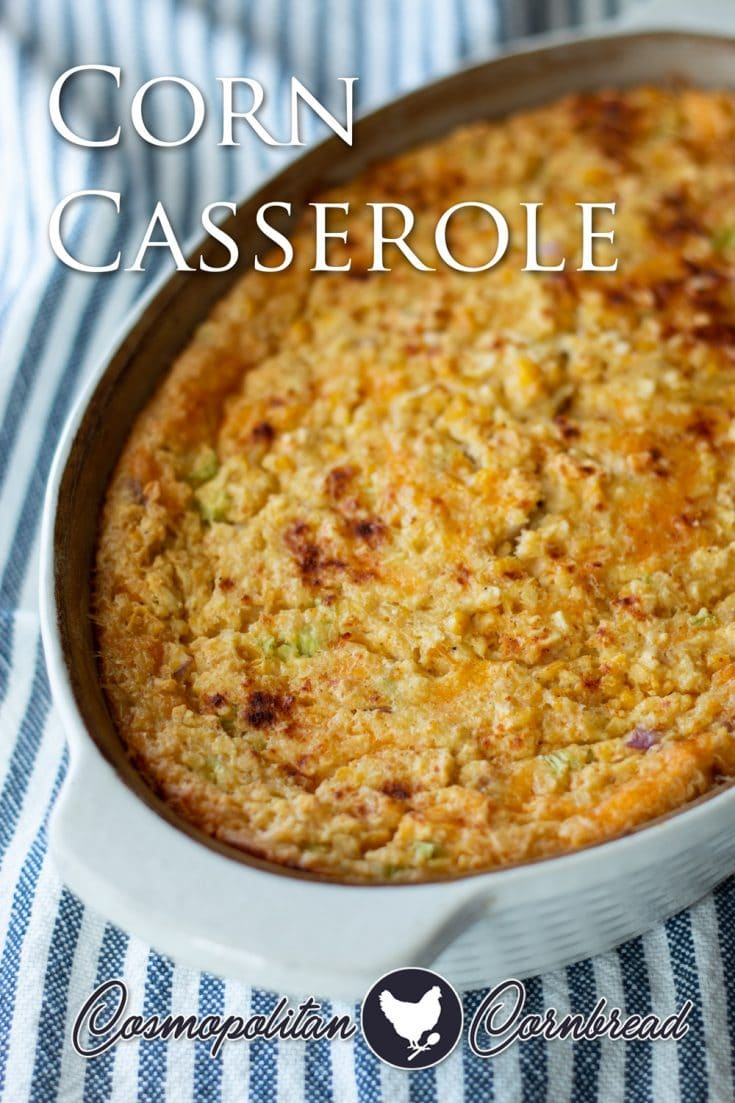Creamy and comforting Corn Casserole is our family's favorite side dish of all time.