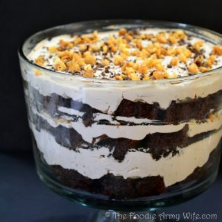 Mocha Macadamia Trifle with Mascarpone Cream