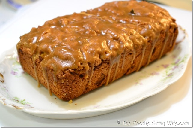 Caramel Apple Bread from The Foodie Army Wife