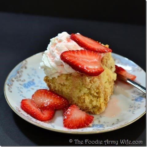 Strawberry Shortcake from The Foodie Army Wife