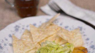 Quick Skillet Nachos from Cosmopolitan Cornbread - who says you can't have nachos for supper?