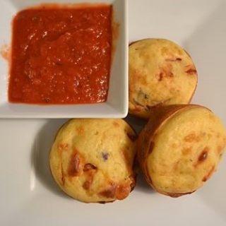 Pizza Muffins from Cosmopolitan Cornbread
