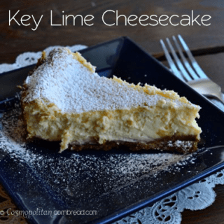Key Lime Cheesecake with Biscoff Crust
