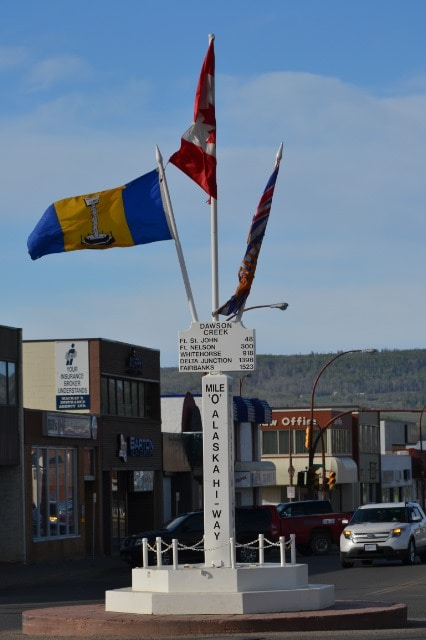 Dawson Creek & The Alaskan Highway