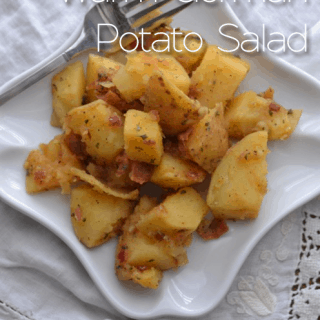 Warm German Potato Salad & Summer Cookout Recipes