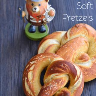 Bavarian Soft Pretzels