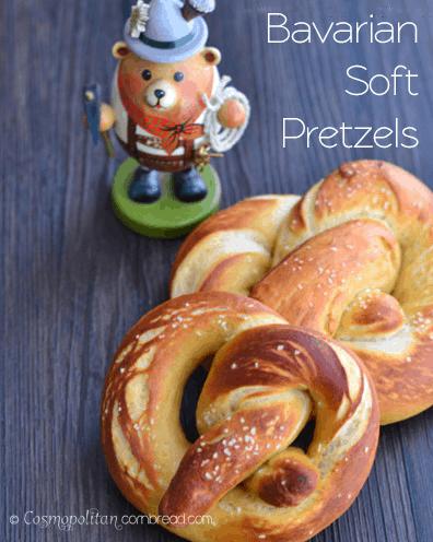 Bavarian Soft Pretzels from Cosmopolitan Cornbread