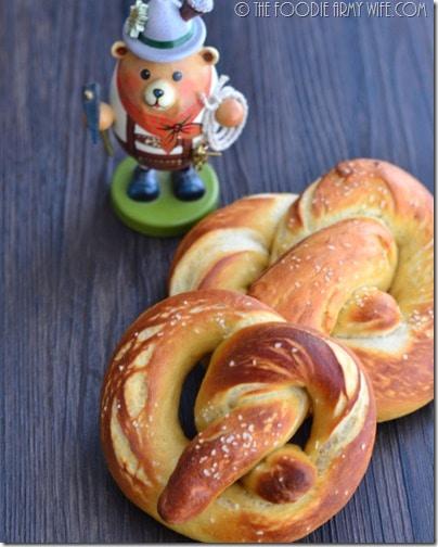 Bavarian Soft Pretzels | TheFoodieArmyWife.com