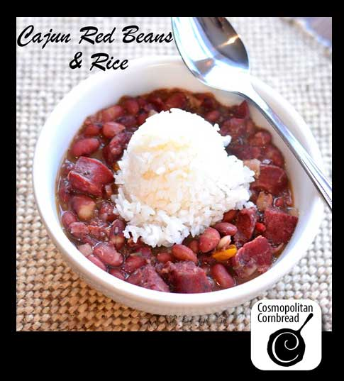 How to make classic Cajun Red Beans & Rice from Cosmopolitan Cornbread