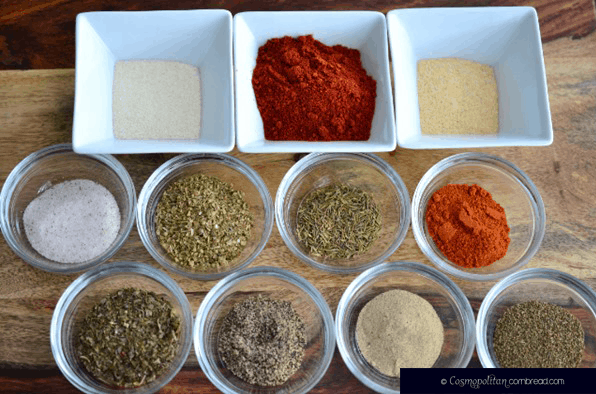 Homemade Creole Seasoning from Cosmopolitan Cornbread