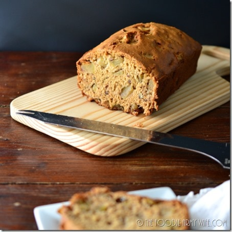 Maple Apple Bread | The Foodie Army Wife